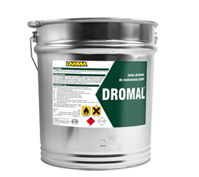 DROMAL - carriageway marking paint